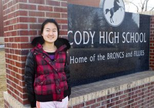 Exchange Student - From China to Cody